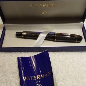 Waterman new original fountain pen w blue ink